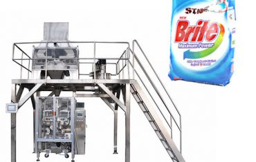 4 ulo linear weigher detergent washing powder packing machine