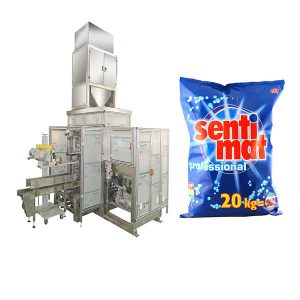 Awtomatikong Premade Big Bag Packing Machine Detergent Powder Open-mouth Bagger