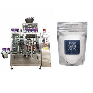 Ang Awtomatikong Pag-ikot ng Premade Bag Packing Machine para sa Salt