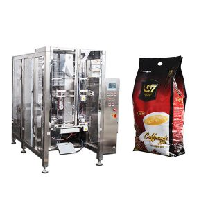 Coffee Quad bag Form Punan Seal packaging machine