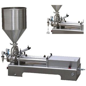 Dual Heads Piston Filler For Viscous Liquid