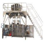 pahalang na pre-made packing machine na may multihead weigher
