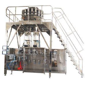 Pahalang na Pre-made Packing Machine Gamit ang Multihead Scales para sa Granules