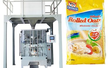 Linear weigher automatic oatmeal packing machine