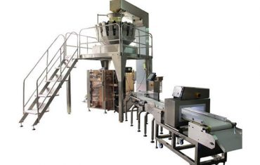 quad seal bagger na may multi-head weigher