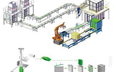 pangalawang packaging production palletizing line