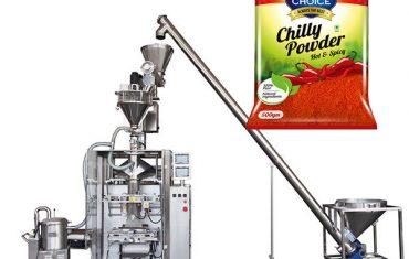 vffs bagger packing machine na may auger filler para sa paprika at chilli food powder