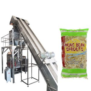 buong awtomatikong pagtimbang bean sprouts packaging machine